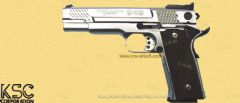 S&W Performance Center M945 Silver by KSC (Japanese Version)
